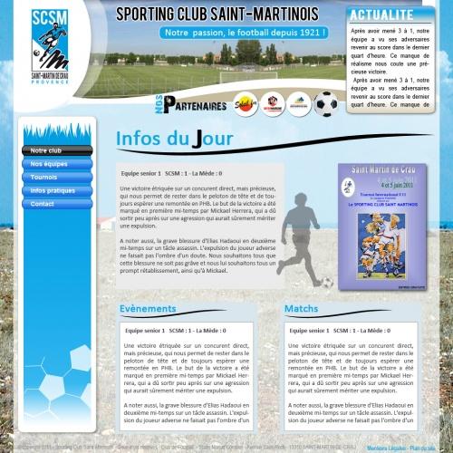 Sites internet SCSM