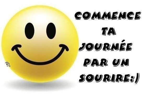 Commence ta journée par un sourir :)