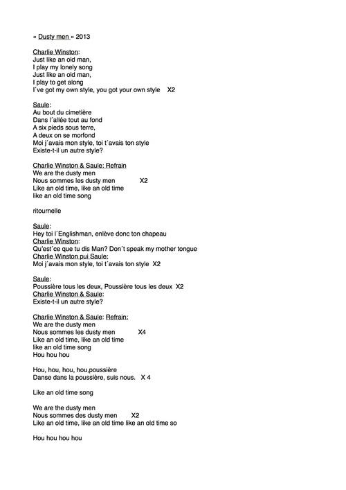Chants 4eme
