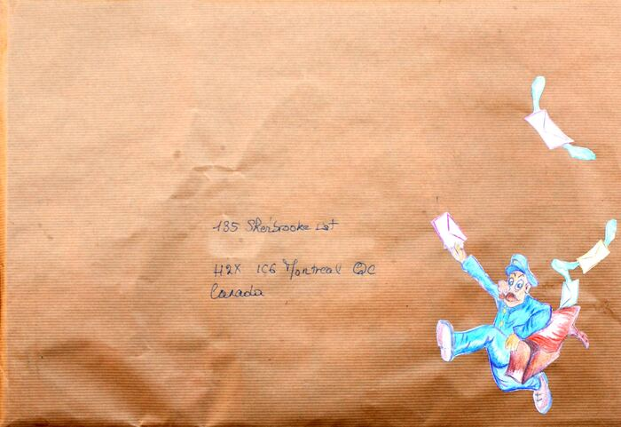 Mail art Pâques