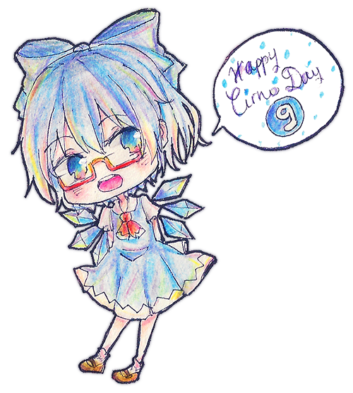 14⑨⑨ Happy Cirno Day !!