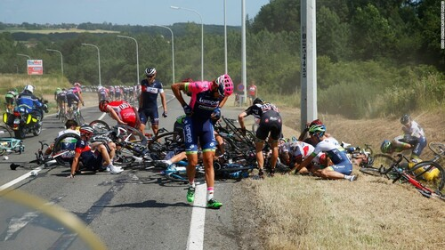 accident au tour de France 2015