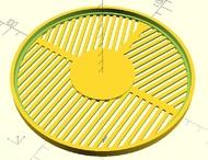 bahtinov,qu-bd,3d printing,intes micro m603,leca philippe,philippe leca,openscad
