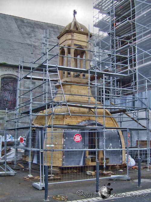 Le clocher de Lesneven