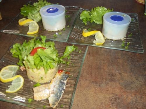Sardines à l'orientale Perle des Dieux / semoule et graines de pavot Farin'up