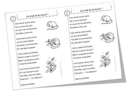 Poèmes sur les chats, les souris et autres petits rats ...