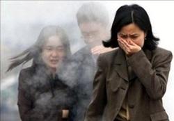 Pékin asphyxiée