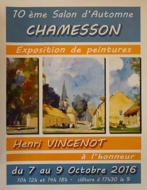 Le salon d'automne de Chamesson