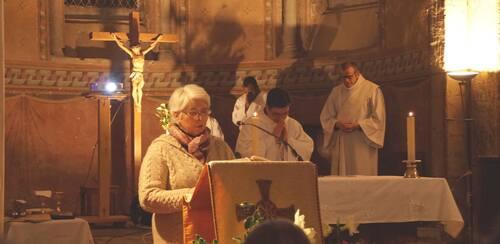 24 Décembre, messe des familles à Huriel