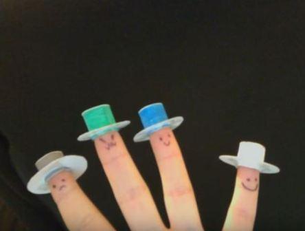 Jour 21 Comptine des chapeaux