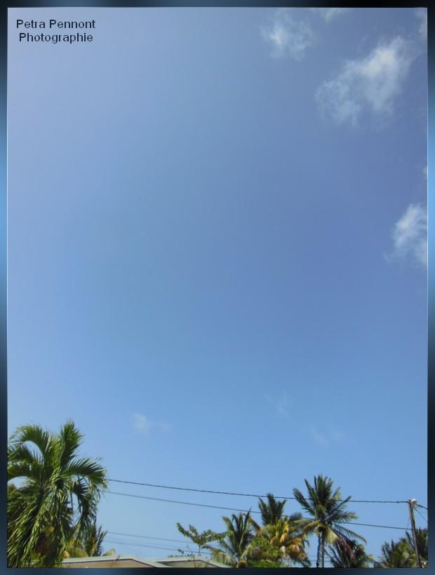 A 14h00 le ciel est dégagé