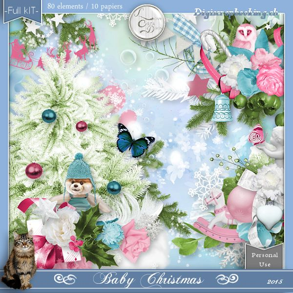 Baby Christmas by Love Créa Design