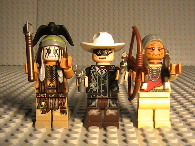 Légo The Lone Ranger n° 79110 de 2013 - L'attaque de la mine d'argent.