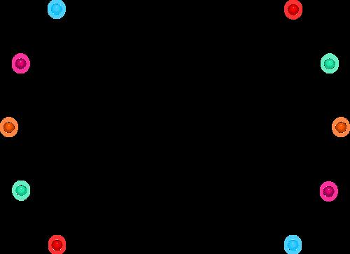 Décos Géométriques Série 25