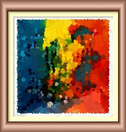Dessin et peinture - vidéo 2484 : Comment obtenir des effets ? - le mixed media ou mélange de plusieurs techniques.