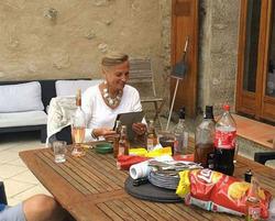 La maison du bonheur à Castellane, Alpes de Haute Provence
