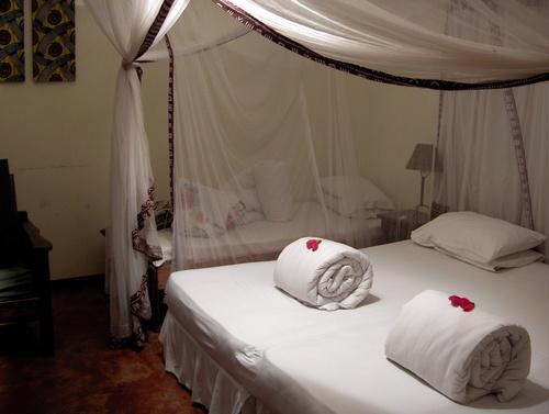 Notre chambre au Moivaro Coffee Lodge