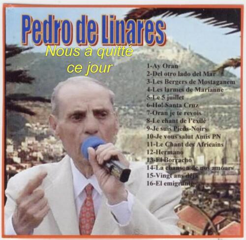 Décès Pedro De LINARES