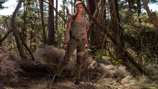 Leaked Tomb Raider 2018 Alicia Vikander Walton Goggins Hannah