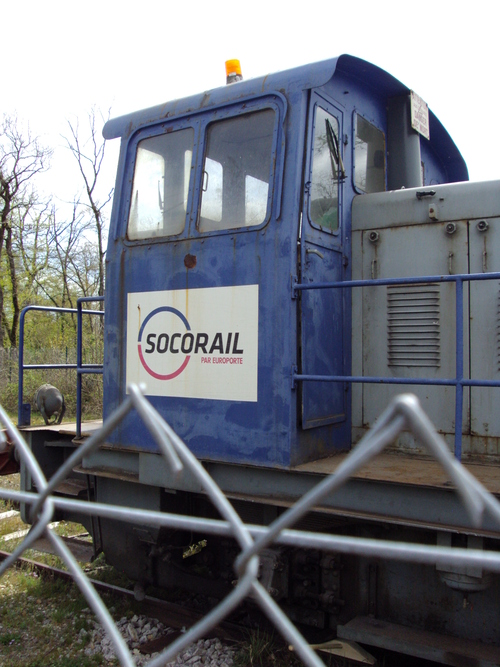 Locotracteur Socorail