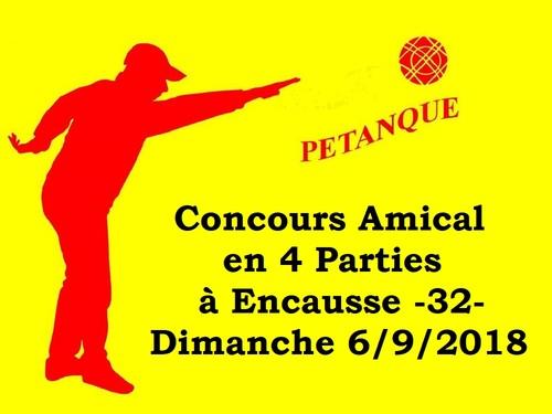 Concours Amical Doublette à Encausse -32-