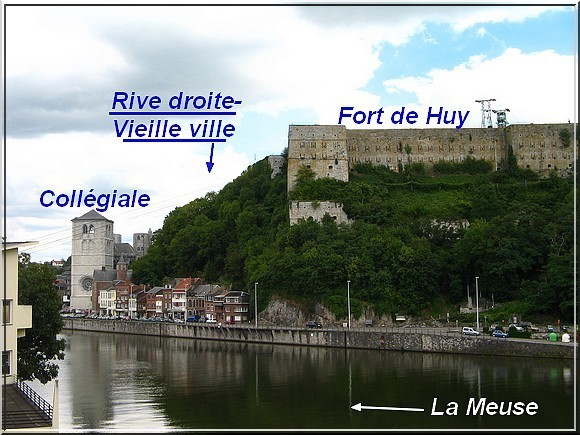 HUY - FORT-COLLEGIALE-MEUSE - 1