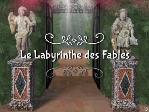 teaser de mon  prochain projet : le labyrinthe des fables