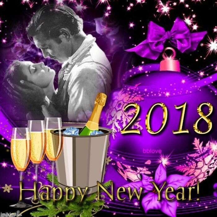 Page kdos belle Année 2018 à vous tous et merci