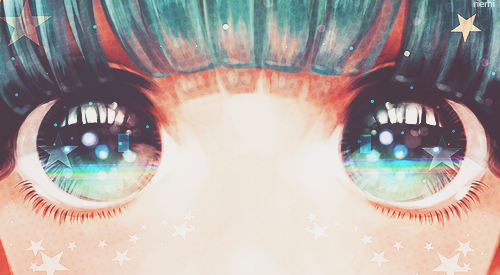 [en libre service] Kawaii girl's eyes