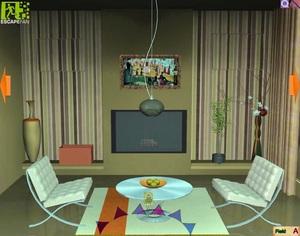 Jouer à Minimalistic house escape 4