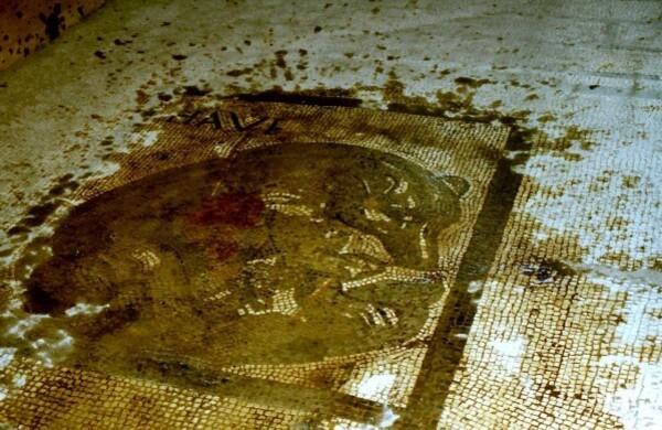 Pompei, la Maison de l'ours, prothyrum