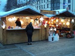 * Au Marché de Noël de Bruxelles