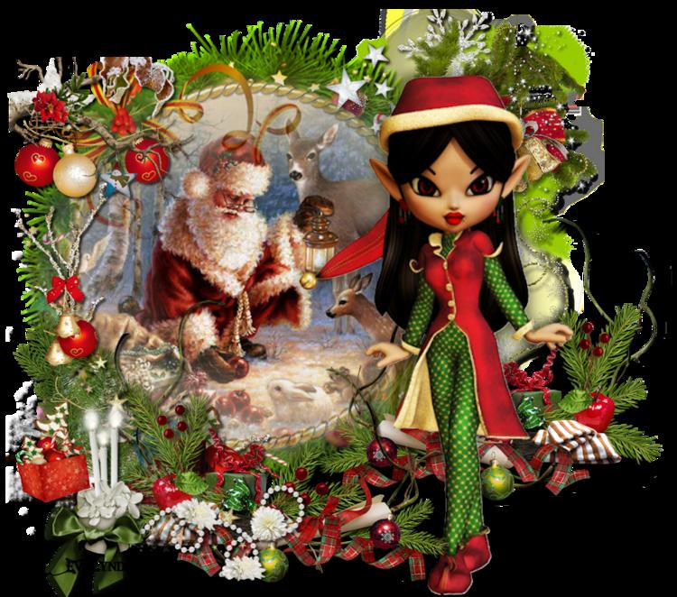 16. Versions du scrap: Quand revient Noël