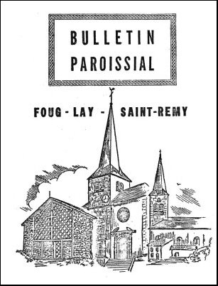 Bulletin paroissial 1960