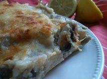 GRATIN DE POISSON ET FRUITS DE MER