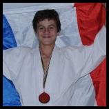 Maxime Cppain,  vice-champion du monde de karaté