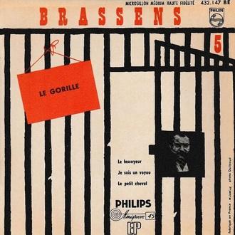 Georges Brassens, 1956