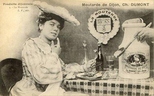 La moutarde de Dijon...