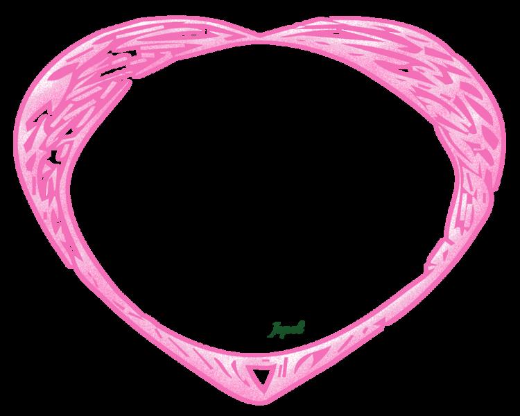 Cadres divers formes St-valentin no:3 ROSE