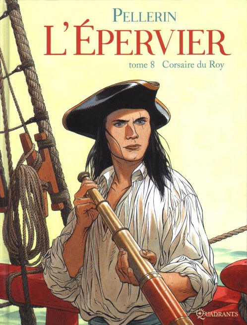 "Bande dessinée: ""L'Epervier"" de Patrice Pellerin"