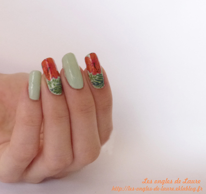 Nail Art tropical