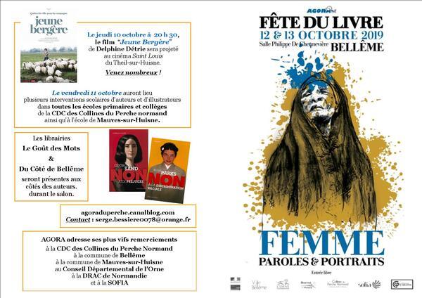 Fête du livre à Belleme les 12 et 13 Octobre