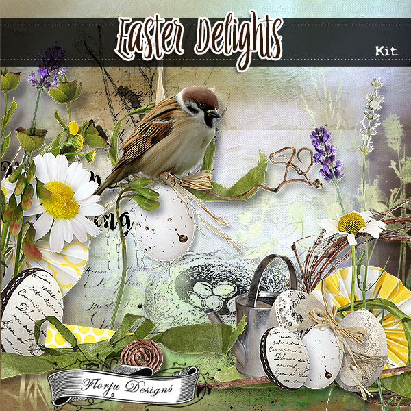 Easter Delight { Kit PU } by Florju Designs
