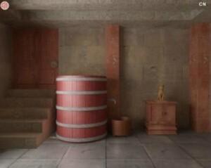 Ancient castle basement escape