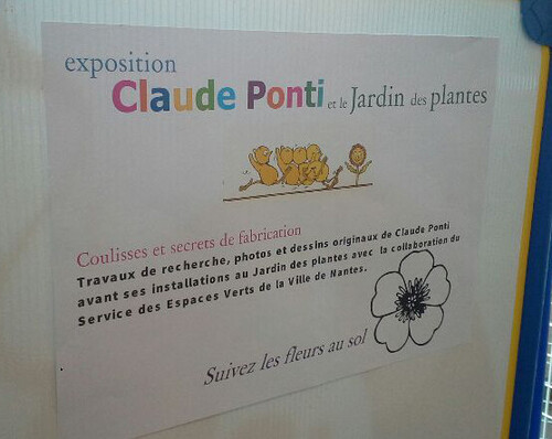 """Coulisses et secrets de fabrication"" / Expo Claude Ponti"
