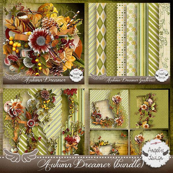 Autumn Dreamer by Angel's Designs