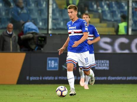 Acheter maillot Sampdoria 2019 Domicile