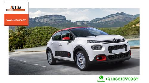 Location de voiture compacte à Casablanca – Essayez la location de la nouvelle Citroën c3 à Casablanca