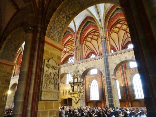 Atour de la cathédrale de Brême en Allemagne (photos)