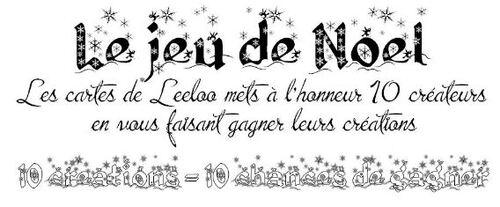 Le jeu de Noël de Leeloo.